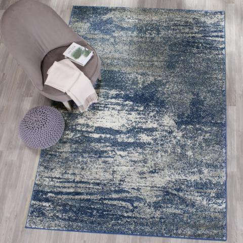 Safavieh Evoke 272 Navy / Ivory-Area Rug-Safavieh-The Rug Truck