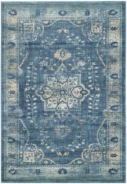 Safavieh Evoke 509 Navy / Gold-Area Rug-Safavieh-The Rug Truck