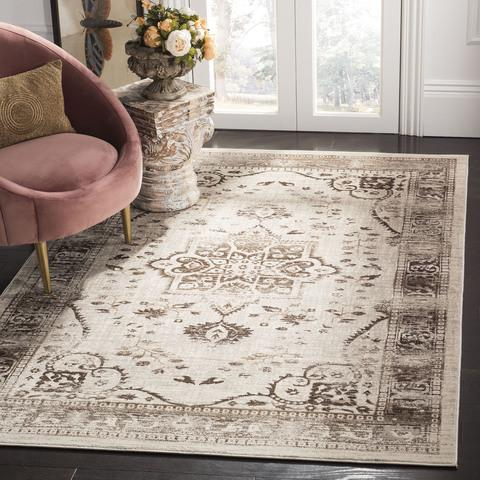 Safavieh Evoke 509 Beige / Brown-Area Rug-Safavieh-The Rug Truck