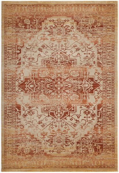 Safavieh Evoke 516 Rust / Creme-Area Rug-Safavieh-The Rug Truck