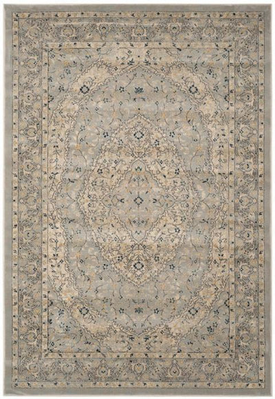 Safavieh Evoke 518 Light Grey / Cream-Area Rug-Safavieh-The Rug Truck