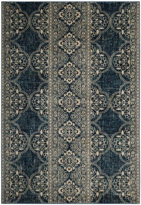 Safavieh Evoke 520 Royal / Ivory-Area Rug-Safavieh-The Rug Truck