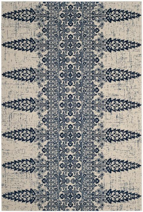 Safavieh Evoke 521 Ivory / Royal-Area Rug-Safavieh-The Rug Truck