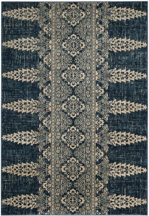 Safavieh Evoke 521 Royal / Ivory-Area Rug-Safavieh-The Rug Truck