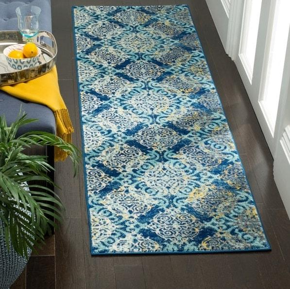 Safavieh Evoke 230 Royal / Light Blue-Area Rug-Safavieh-The Rug Truck