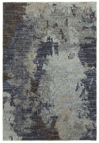 Evolution - 8049B - Navy/Blue-Area Rug-Oriental Weavers-The Rug Truck