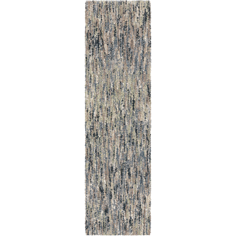 "Palmetto Living Next Generation Multi solid Muted Blue Area Rug - 7'10"" x 10'10"""