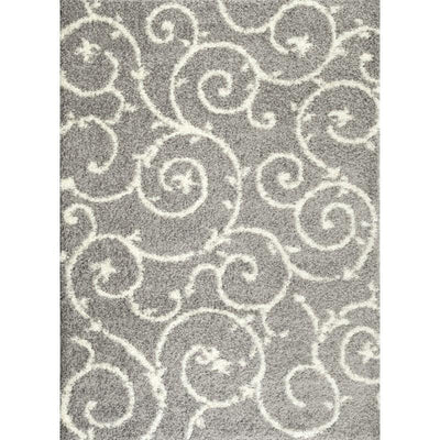 "Florida 2323 Gray Area Rug-Area Rug-World Rug Gallery-3'3"" x 5'-The Rug Truck"