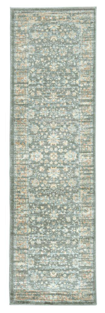 Francesca 501 Light Green Area Rug 22 X 77