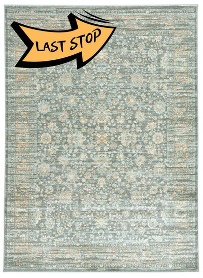 Francesca 501 Light Green Area Rug 33 X 411