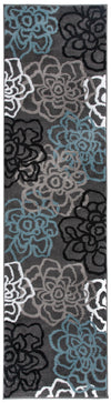 "Alpine 108 Gray Area Rug-Area Rug-World Rug Gallery-2' x 7'2""-The Rug Truck"
