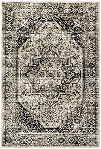"The Rug Truck Savannah 429g Grey Area Rug (7'10"" X 10')"