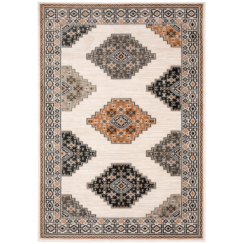 "The Rug Truck Savannah 640a Ivory Area Rug (7'10"" X 10')"