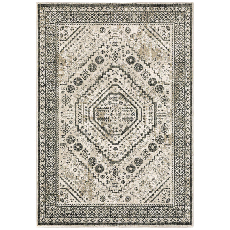 "The Rug Truck Savannah 659c Ivory Area Rug (7'10"" X 10')"