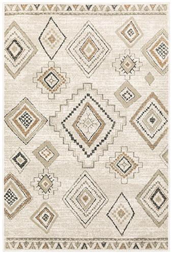 "The Rug Truck Savannah 660b Ivory Area Rug (7'10"" X 10')"