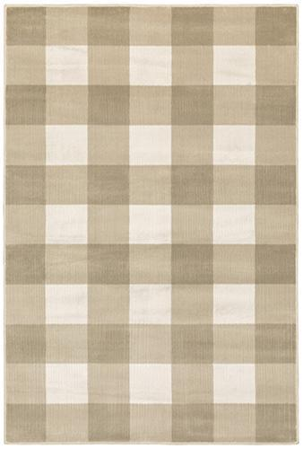 "The Rug Truck Savannah 678a Beige Area Rug (7'10"" X 10')"