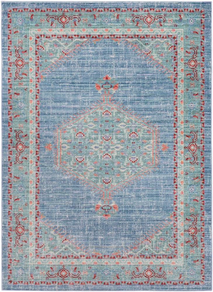 "Gabriella Bright Blue 9' x 12'7"" Rug"