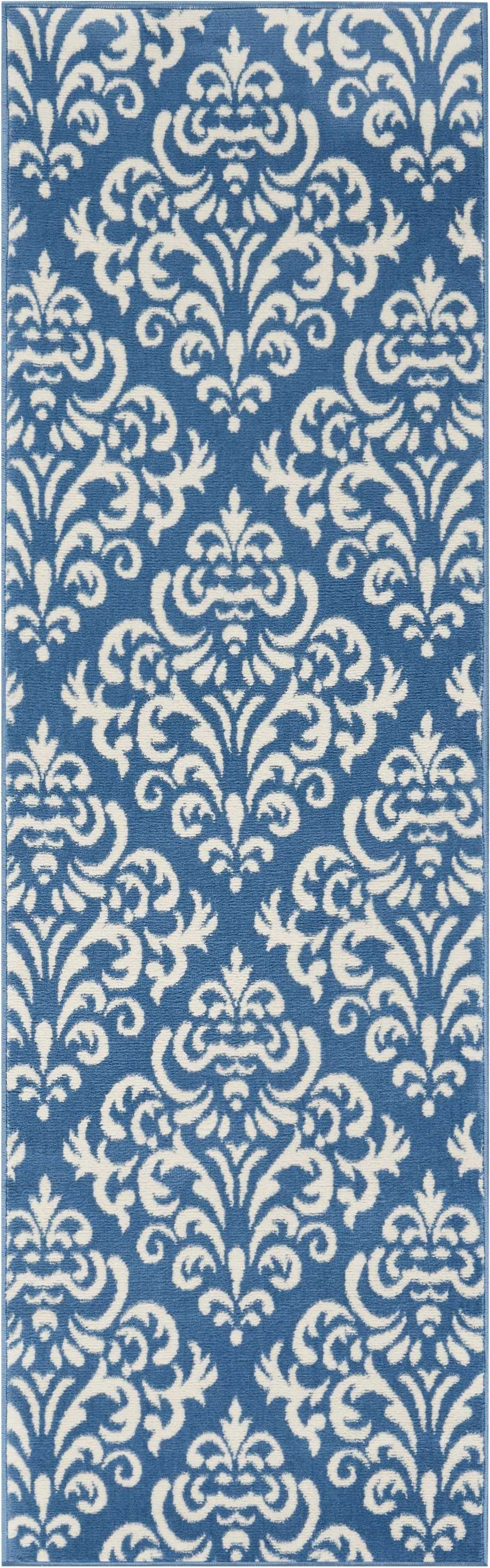Grafix GRF06 Blue Area Rug-Area Rug-Nourison-The Rug Truck