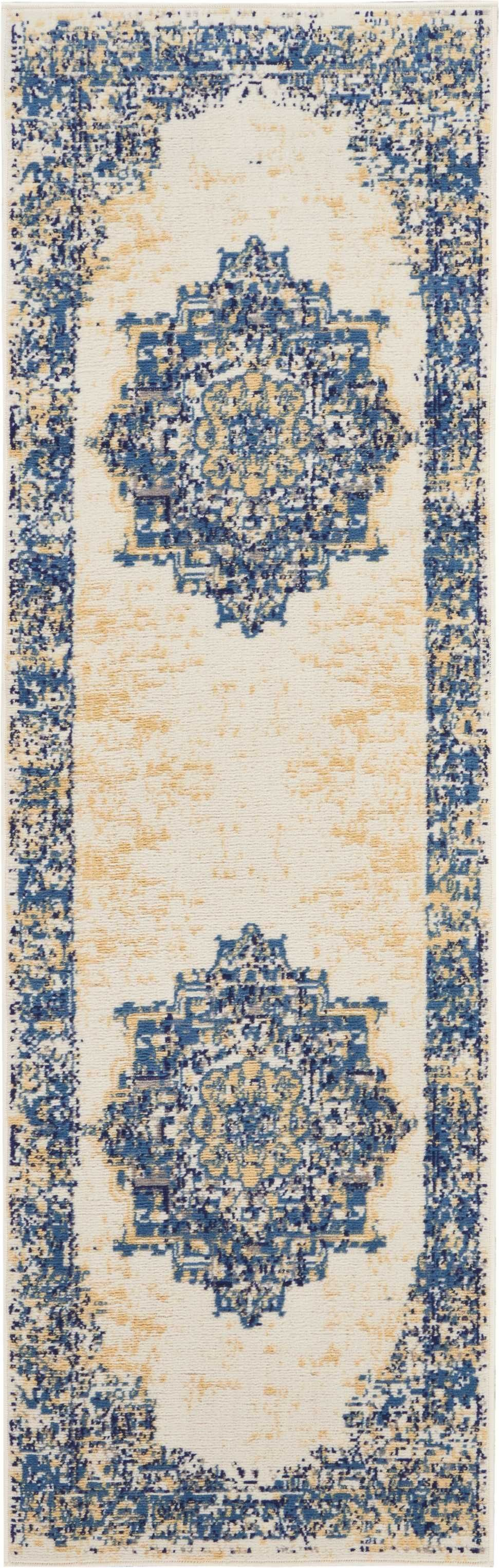 Grafix GRF14 White Area Rug-Area Rug-Nourison-The Rug Truck