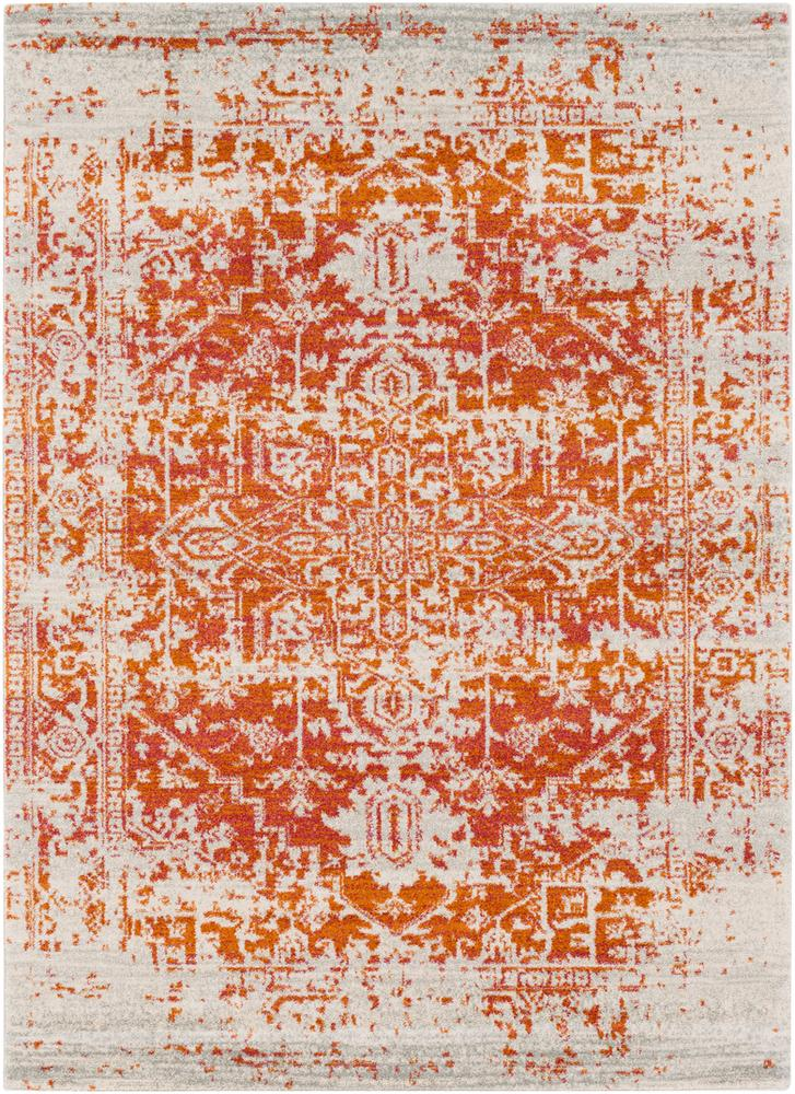 Harput HAP-1019 Burnt Orange Area Rug-Area Rug-Surya-2' x 3'-The Rug Truck