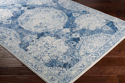 Harput HAP-1039 Dark Blue Area Rug-Area Rug-Surya-The Rug Truck