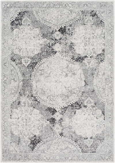 Harput HAP-1041 Light Gray Area Rug-Area Rug-Surya-2' x 3'-The Rug Truck