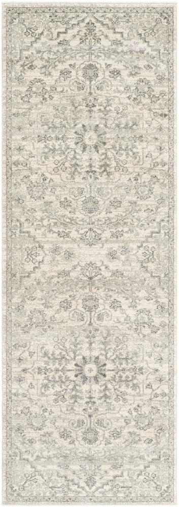 "Harput HAP-1069 Light Gray Area Rug-Area Rug-Surya-2'7"" x 7'3""-The Rug Truck"
