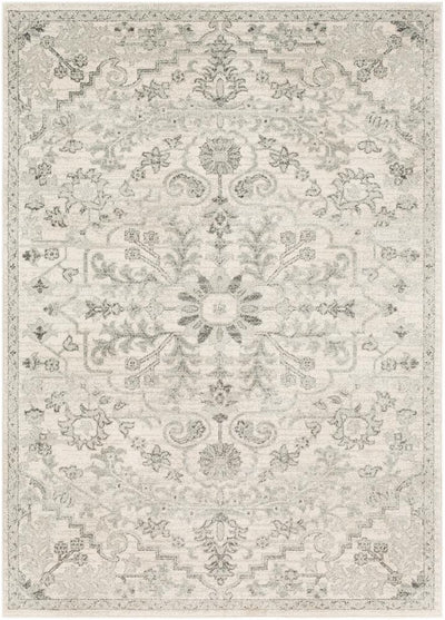 Harput HAP-1069 Light Gray Area Rug-Area Rug-Surya-2' x 3'-The Rug Truck