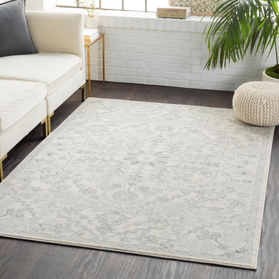 Harput HAP-1069 Light Gray Area Rug-Area Rug-Surya-The Rug Truck