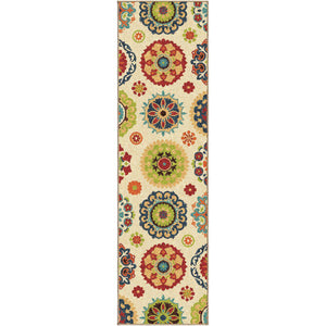 Alfresco Hubbard White-Area Rug-The Rug Truck-2'3