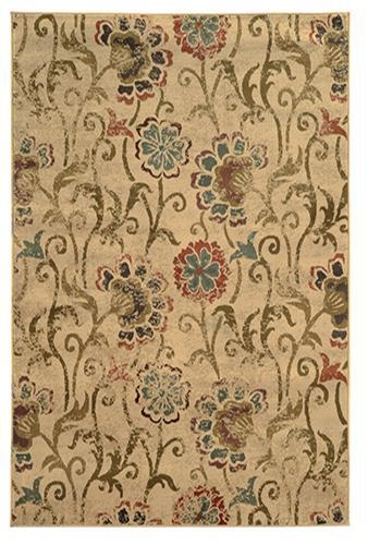 The Rug Truck Bridger 4877b Ivory Area Rug (10' X 13')