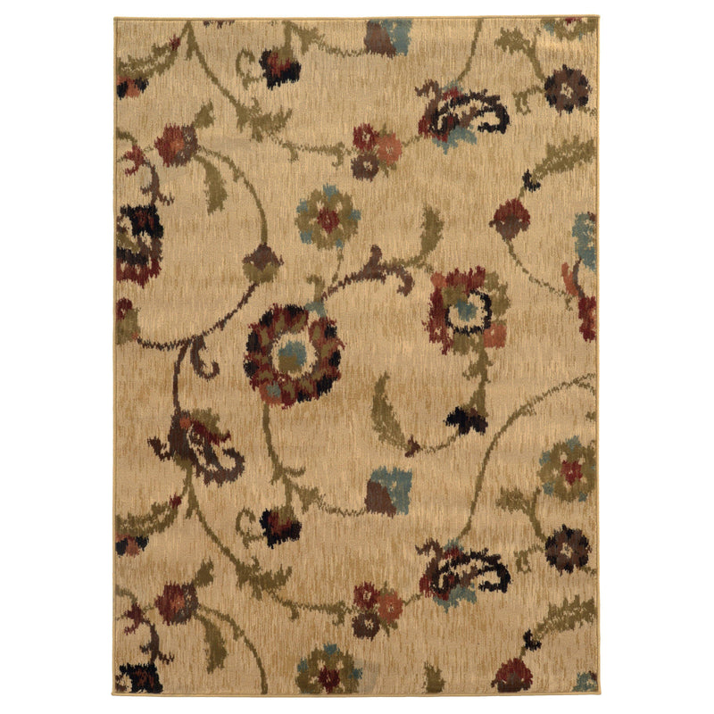 The Rug Truck Bridger 4887b Gold Area Rug (10' X 13')