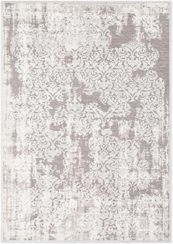 "Hanna Light Gray 7'7"" x 10'2"" Rug"