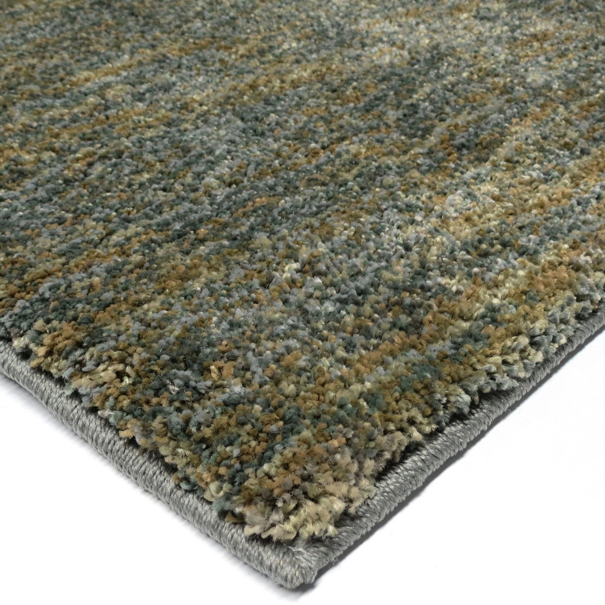 "Palmetto Living Next Generation Solid Blue Area Rug - 7.1"" x 10.10"""