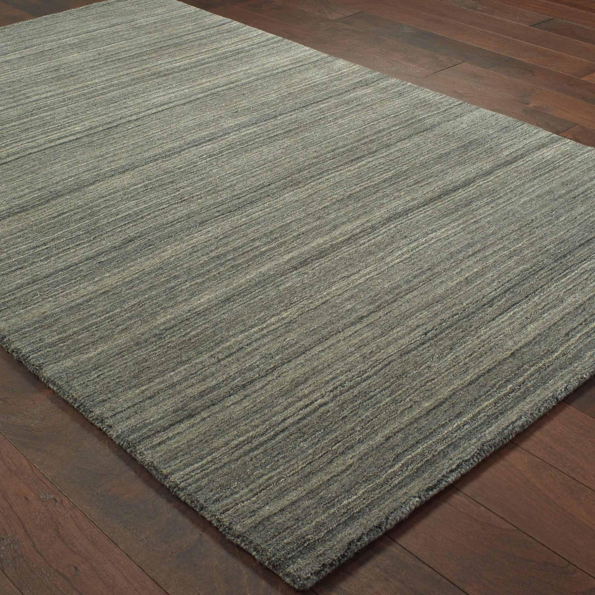 "Infused - 67000 - Charcoal/Charcoal-Area Rug-Oriental Weavers-3' 6"" X 5' 6""-The Rug Truck"