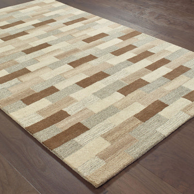 Infused - 67006 - Beige/Grey-Area Rug-Oriental Weavers-The Rug Truck
