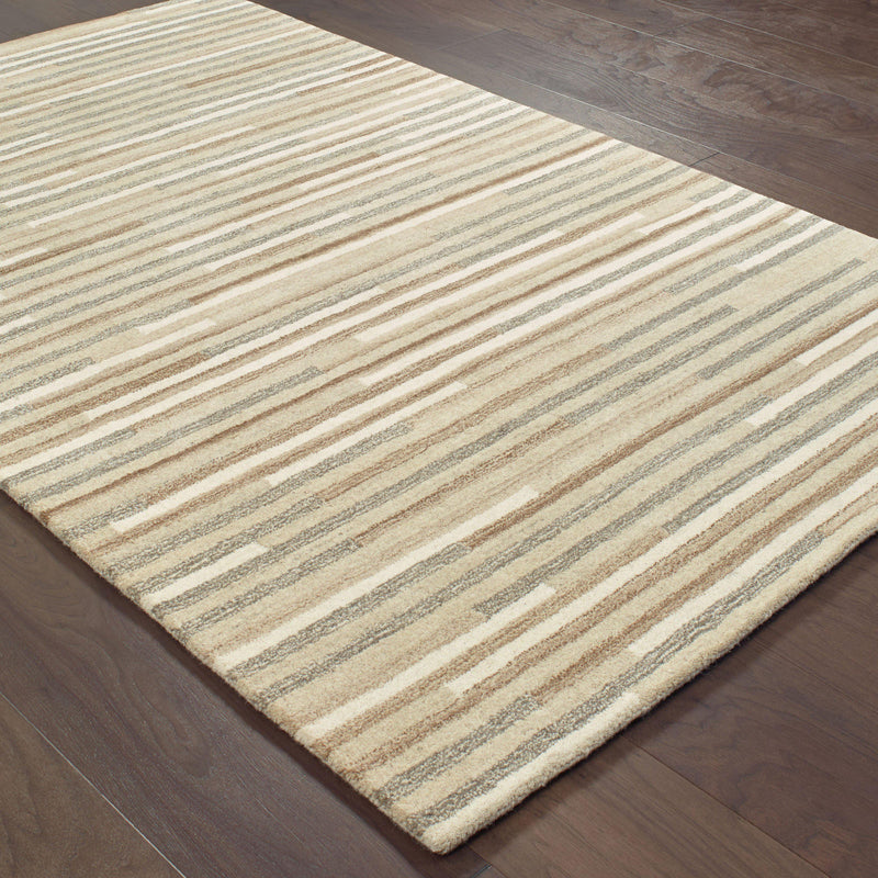 "Infused - 67007 - Beige/Grey-Area Rug-Oriental Weavers-3' 6"" X 5' 6""-The Rug Truck"