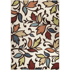 "Alfresco Dicarna Cream-Area Rug-The Rug Truck-6'5"" x 9'8""-The Rug Truck"