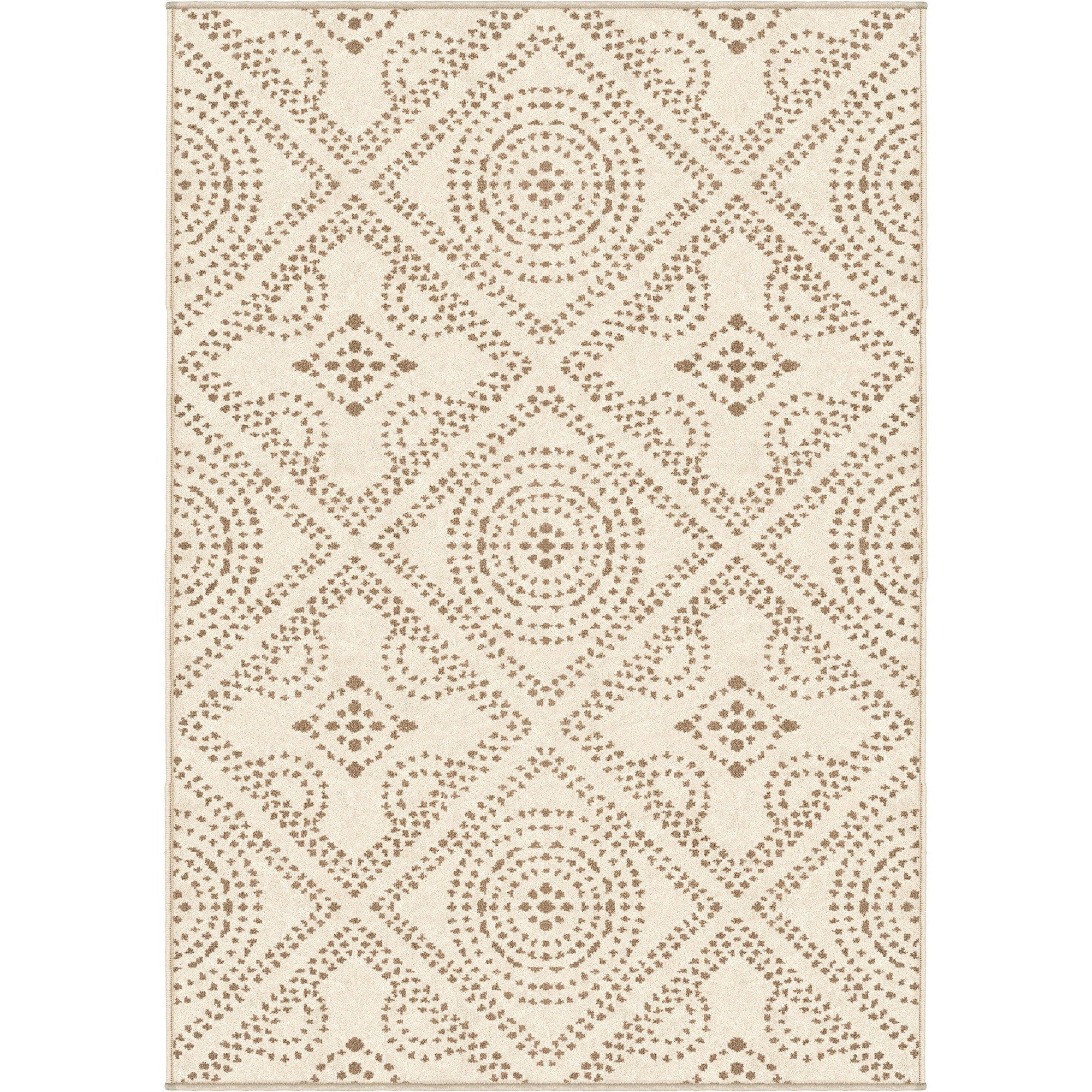 "Roundtop Camille Seashell-Area Rug-The Rug Truck-5'1"" x 7'6""-The Rug Truck"