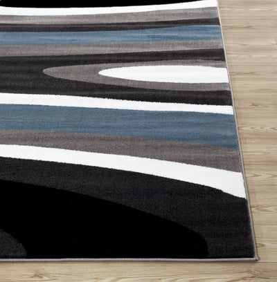 Alpine 110 Blue Area Rug-Area Rug-World Rug Gallery-The Rug Truck