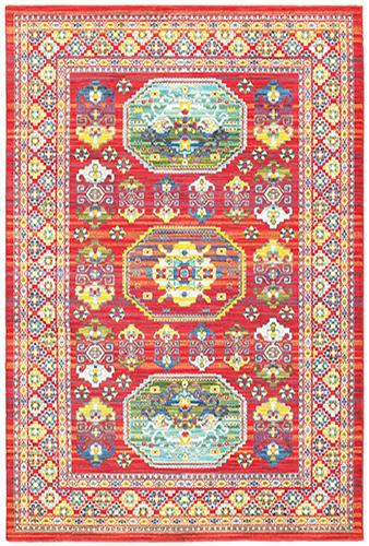 "The Rug Truck Jaimini 3r Red Area Rug (7'10"" X 10'10"")"