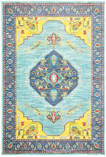 "The Rug Truck Jaimini 564l Blue Area Rug (7'10"" X 10'10"")"