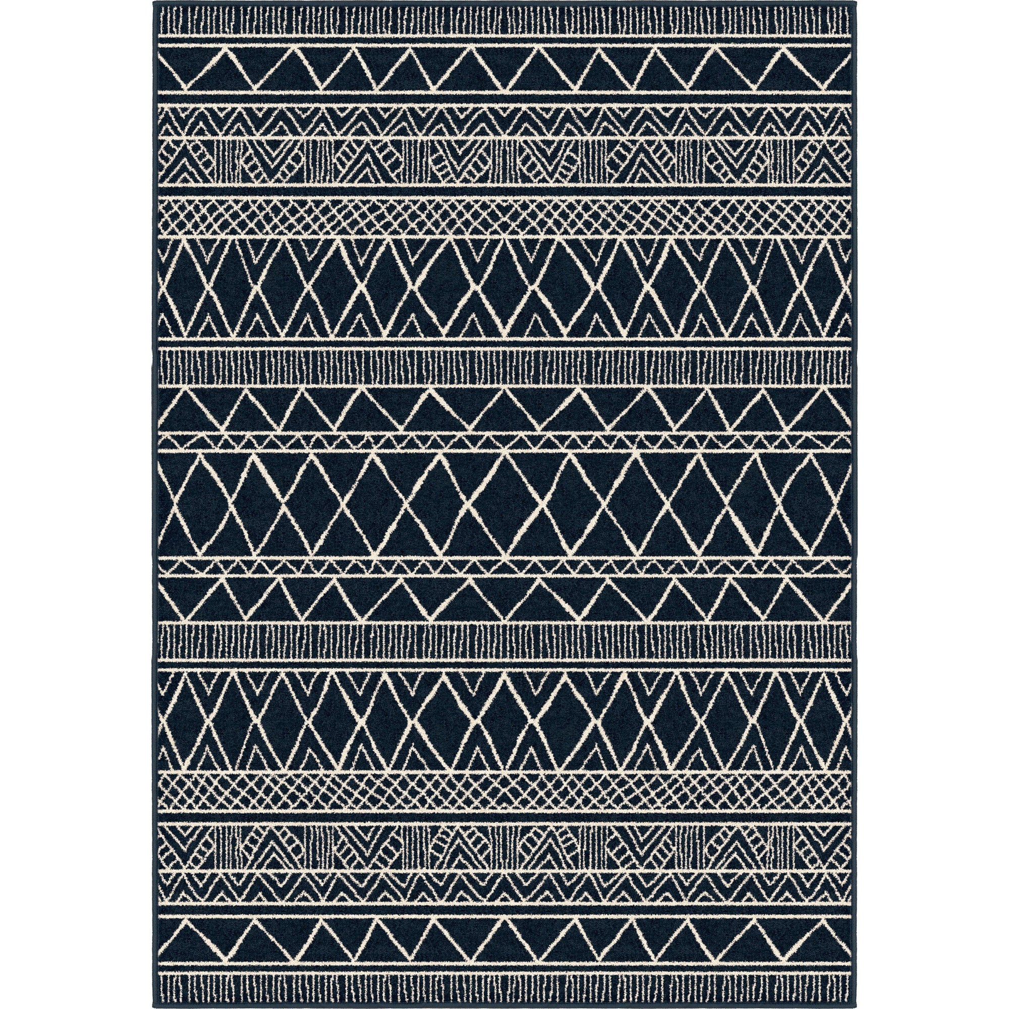 "Roundtop Grand Turk Catalina Blue-Area Rug-The Rug Truck-5'1"" x 7'6""-The Rug Truck"