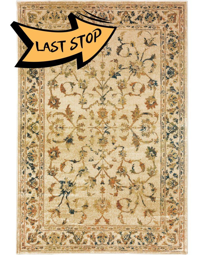 Juliette 1331V Beige/gold 110 X 7 6 Area Rug