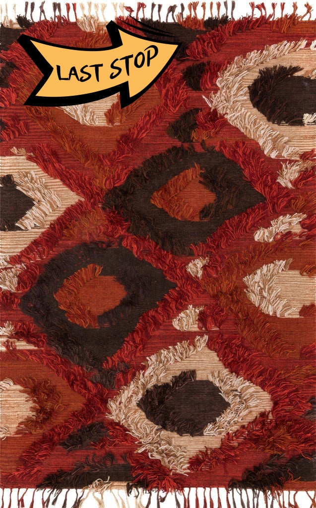 Justina Blakeney Collection Fable Fd-05 Spice 3-6 X 5-6 Area Rug