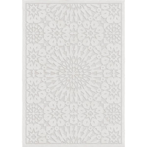 "Roundtop Tunisian Tile Natural-Area Rug-The Rug Truck-5'1"" x 7'6""-The Rug Truck"
