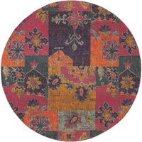 Kaleidoscope - 2060V - Multi/Pink-Area Rug-Oriental Weavers-The Rug Truck