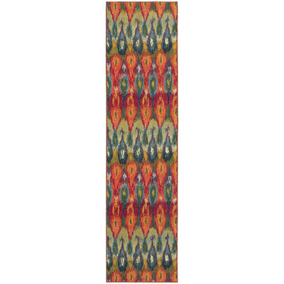 Kaleidoscope - 2061Z - Multi/Red-Area Rug-Oriental Weavers-The Rug Truck