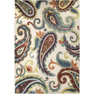 "Alfresco Edisto White-Area Rug-The Rug Truck-5'1"" x 7'6""-The Rug Truck"