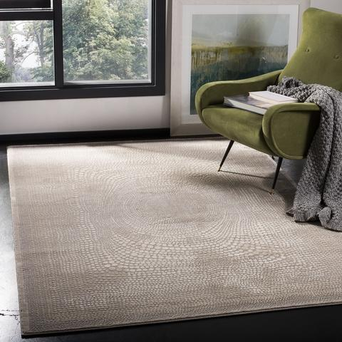 Safavieh Meadow 333 Ivory / Grey-Area Rug-Safavieh-The Rug Truck